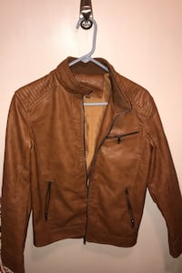 Men's Leather Jacket Size Medium Lincoln, 68516