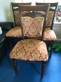 4 dining chairs  Saratoga Springs, 12866