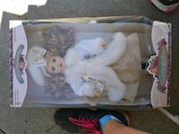 white and pink dressed porcelain doll Los Angeles, 91335