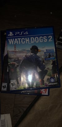 PS4 Watch Dogs 2 game case Fairfax, 22033