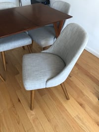 4 dining chairs - West Elm New York, 10003