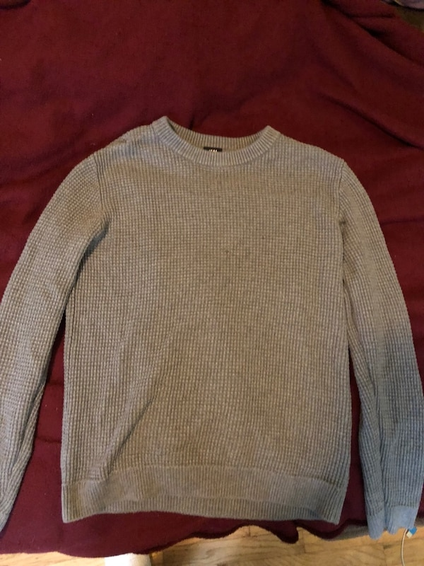 Thick Gray sweater from H&M perfect for winter!!