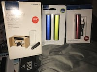 Insignia - Accessory bundle for iPhone 7* + 3 Free  portable chargers  Greenville, 29607