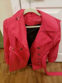 Hot pink Calvin Klein Peacoat-only worn once!