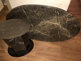 Marble Oval Table $140.00