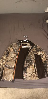 black and brown real tree camouflage jacket Pflugerville, 78660