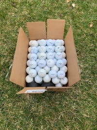 Gently Used Golf Balls