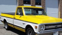 yellow and white single cab pickup truck Erin, N0B 1T0