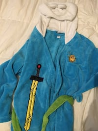 Adventure time boys robe. Like new. Pick up only. Waterford   Waterford, 16441