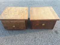 two brown wooden coffee tables Murfreesboro, 37130