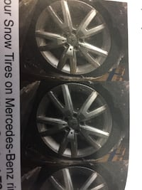 4 Snow tires on rims Toronto