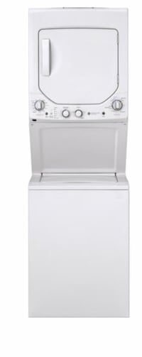 GE 2.3 cu.ft. Washer and 4.4 cu.ft. Dryer unitized Space-maker white Ormond Beach, 32176