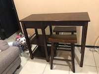 black wooden table with chairs McAllen, 78501