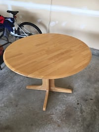 Hardwood Kitchenette Table for 2-4 Triangle, 22172
