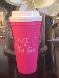 2 Reusable Cups Brand NEW $5 For Both Gainesville, 20155