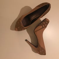 SIZE: 10. NEW. Pair of Brown Caramel closed toe stilettos Winchester, 22602