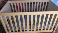 baby crib with mattress convertible to toddler bed Rockville, 20852