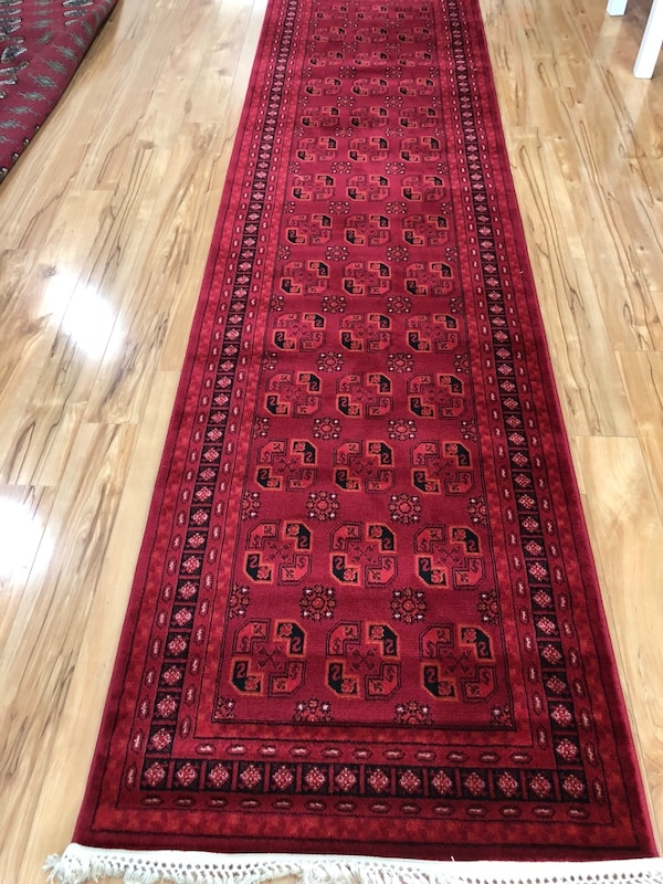 Brand new traditional design carpet runner size 3x10 nice red rug runner Afghan style rugs carpets runners