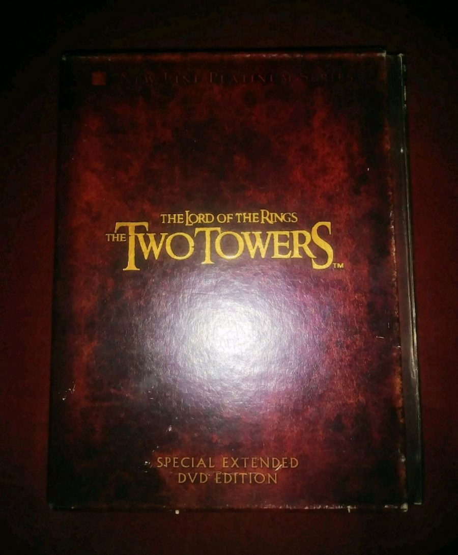 Photo Lord of the rings complete box set.