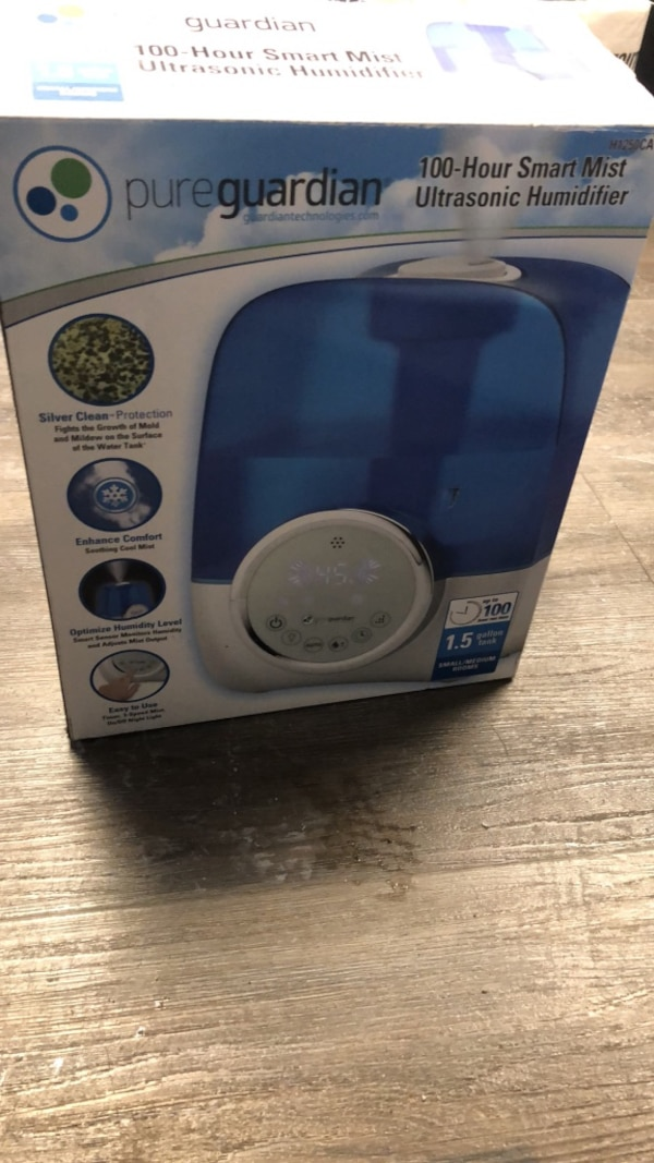 Humidifier - Comes in the box