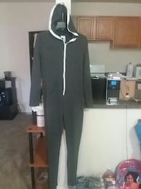 Dark grey white zipper Hoodie jumper New Carrollton, 20784
