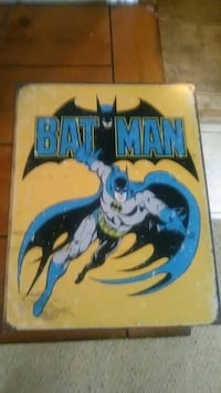 Batman Sign made in USA Roanoke, 24016