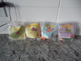 *Vintage* 1988 McDonalds *New in Packaging* Fraggle Rock Toys (Complet