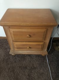 End table/drawers
