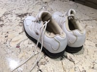 Pair of white  Ladies  TOP FLIGHT Golf shoes Chilliwack, V2R 3P3