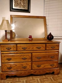Like new solid wood dresser/TV stand with big draw Annandale, 22003