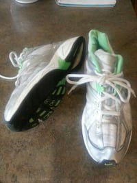 white-and-gray nike athletic shoes Eau Claire