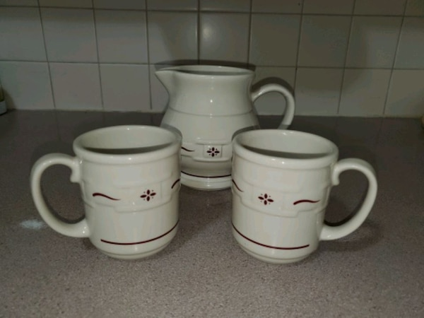 Longaberger Woven Traditions Classic Red Set db9d9296-02c8-4247-8f83-625cf4066200