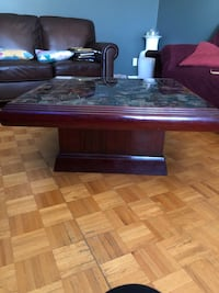 Living room table and matching end table Montreal, H1E 1Z8