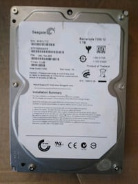 Seagate Barracuda 1 Tb 7200 rpm