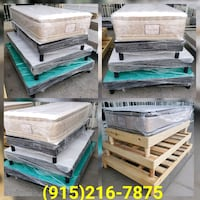 **Brand New Wooden Bed Frames** (All Sizes Vary On El Paso, 79936