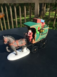 Department 56 Heritage Village Fezziwig Delivery Wagon Mountain Brook, 35243