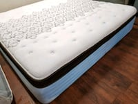 Sealy mattress bed, delivery available for a small Edmonton, T6J 4M5