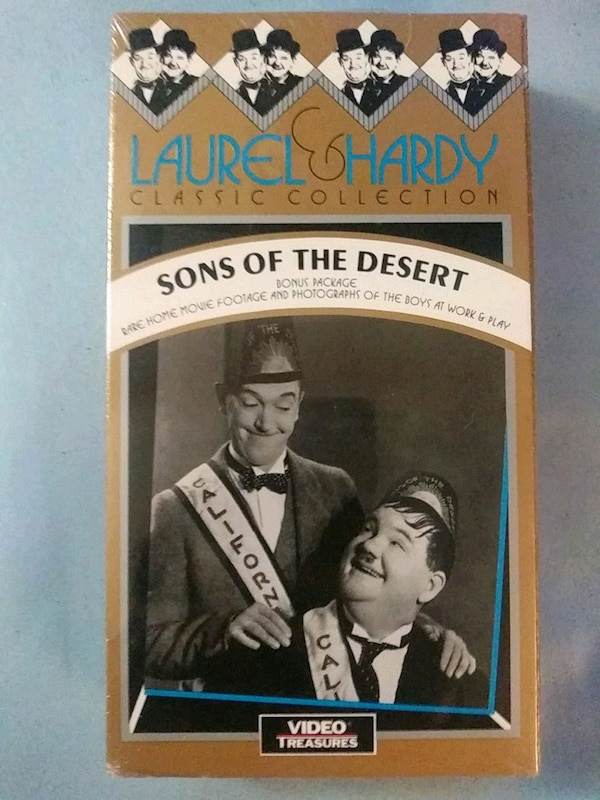 Laurel and Hardy Sons of the Desert vhs (New) bb66f5ac-c7f8-474e-b4c7-58071c61fac8