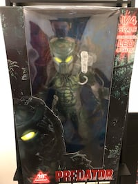 "NECA 30th Anniversary JUNGLE DEMON PREDATOR 1/4 Scale 18"" Madison, 53719"