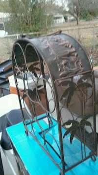 Copper wine rack Aiken