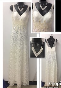 New With Tags Size 6 Bridal Gown $215