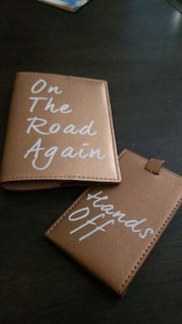 PASSPORT HOLDER AND LUGGAGE TAG Surrey, V4N
