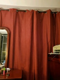 2 peices of curtains rod is not included  Toronto, M1P 3Y4