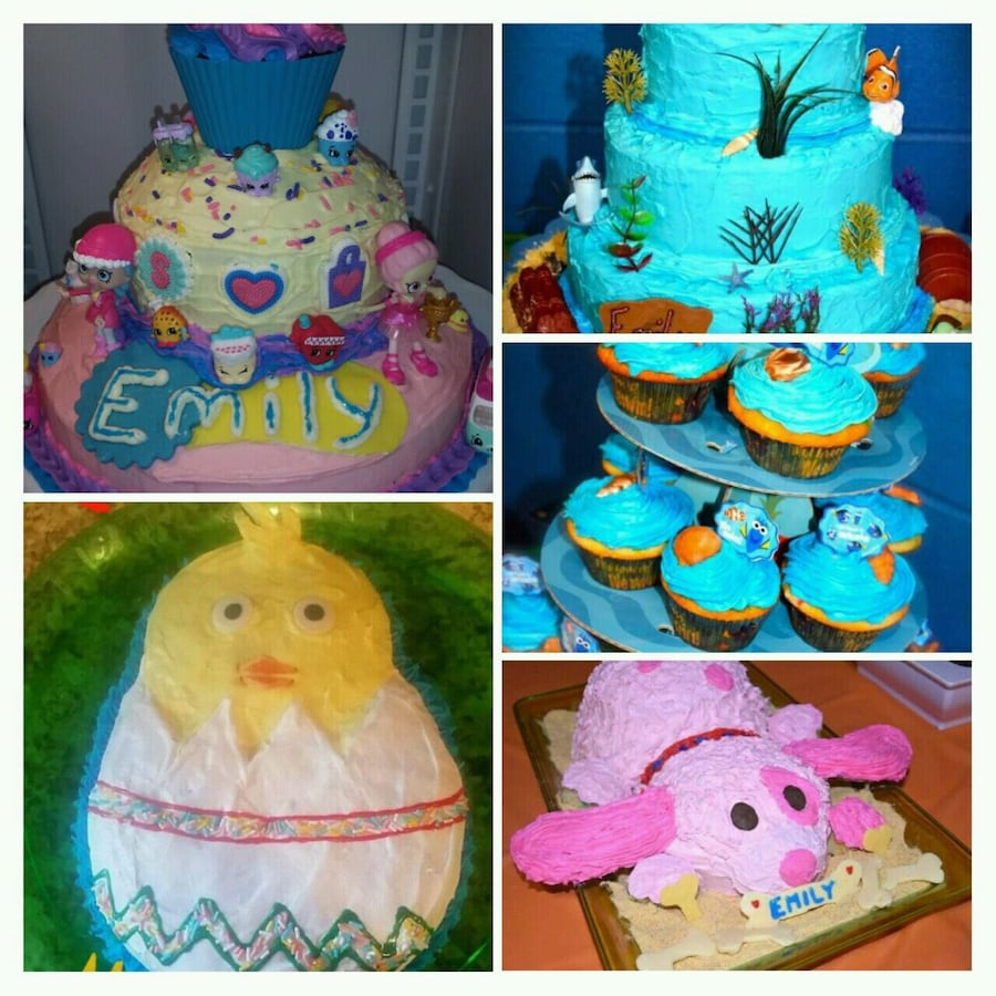 Birthday cakes and more!