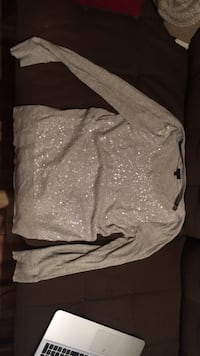 JCrew Sequin Sweatshirt Womens M