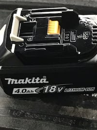 Brand new makita 4.0 amp battery  3719 km