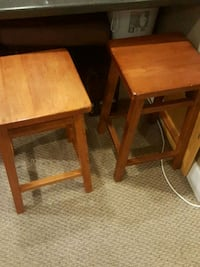 two brown wooden side tables Atlantic Beach, 32233