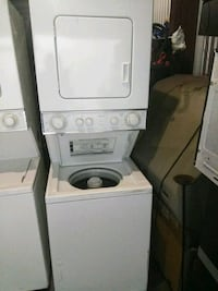 white stackable washer and dryer Silver Spring, 20906