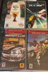 PSP GAMES $20 for all 4 games