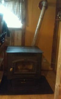 pellet, corn stove/ with pipe